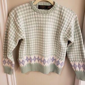 Vintage 100% Cotton Eddie Bauer Sweater
